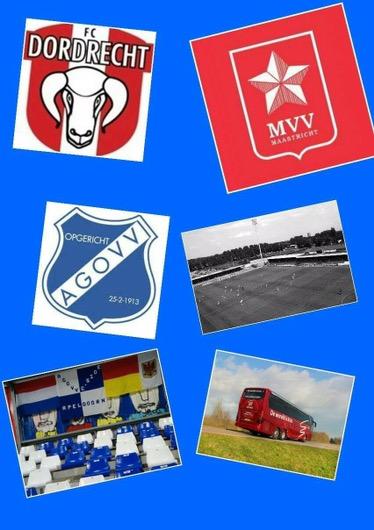 Fans omgevallen clubs naar FC Dordt